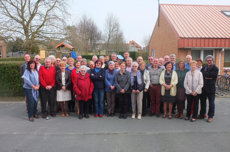 Dankmoment Beweging.net Bredene in zaal De Caproen