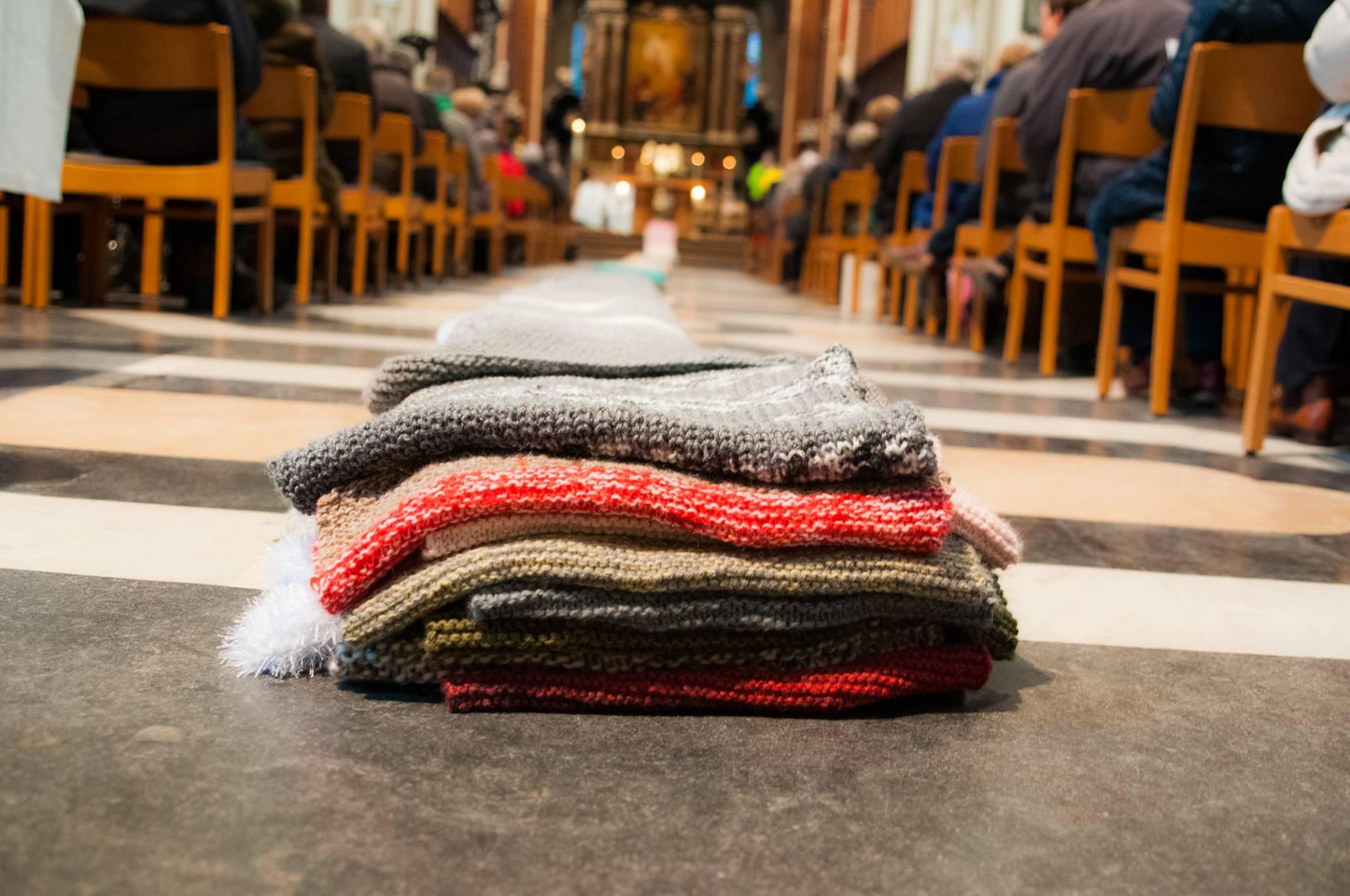 Slotmoment 'Sjaal voor de kathedraal'