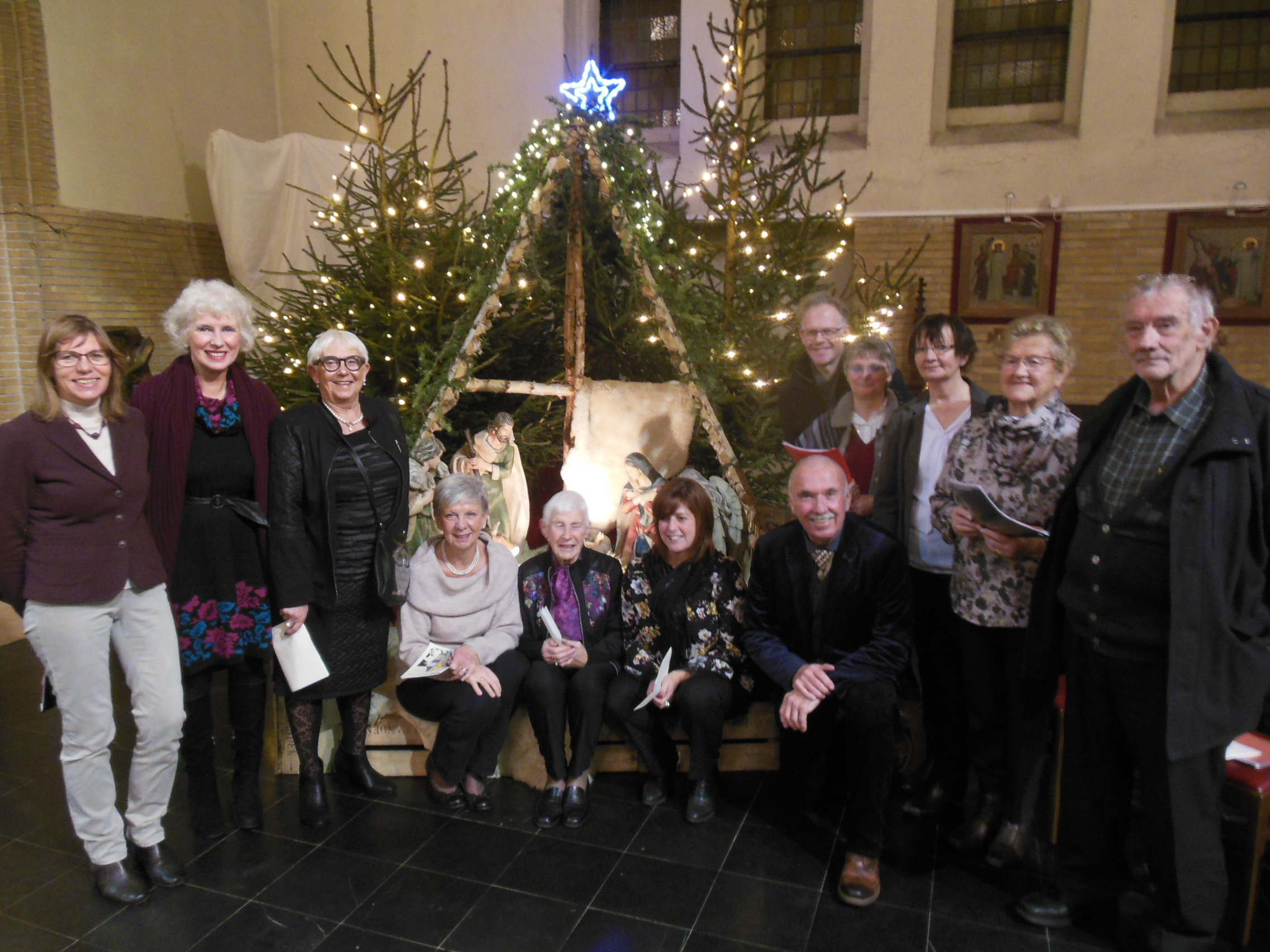 Kerstviering in St.-Theresia