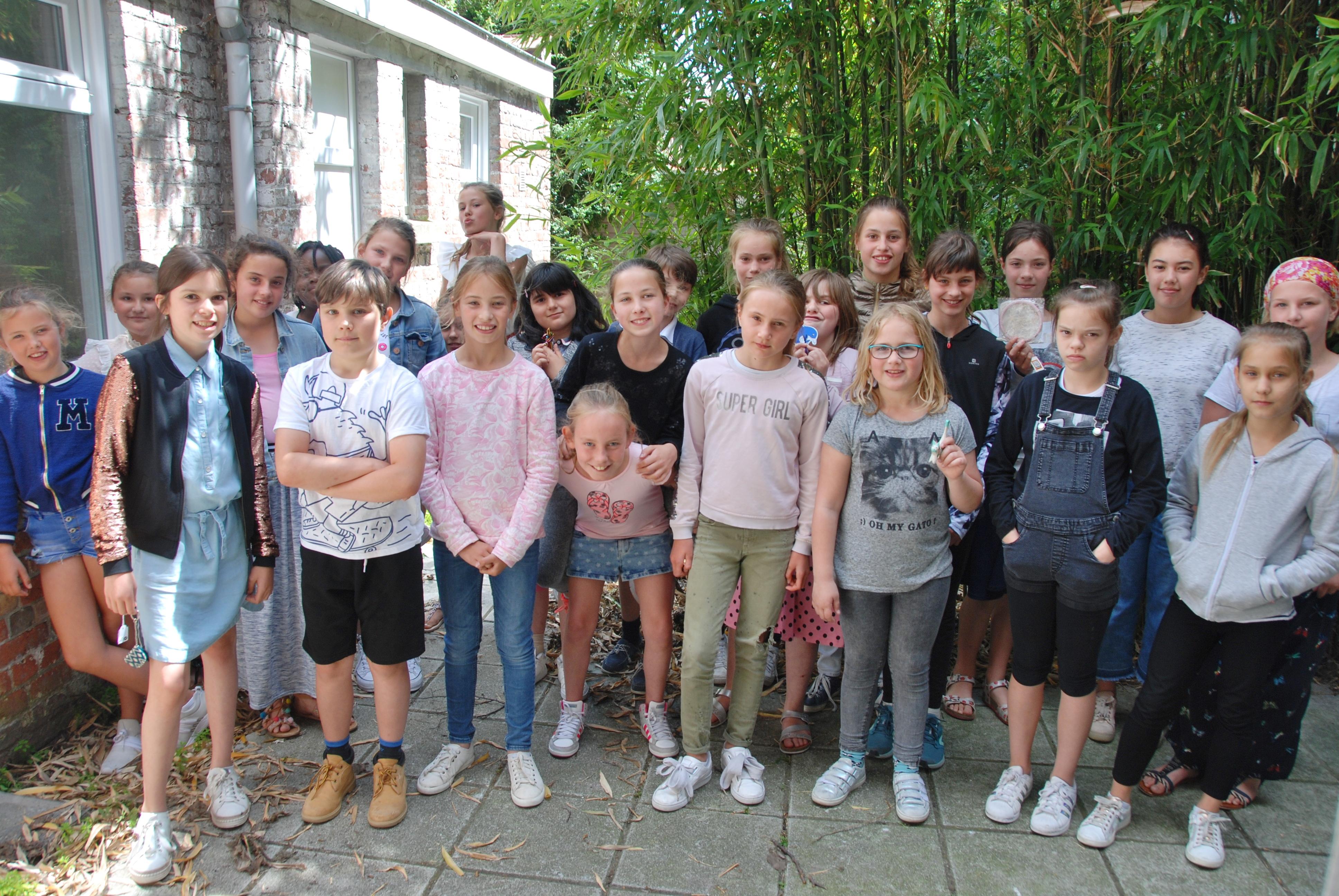 Bedankingsfeest kinderkoor OLVO-Vuurtorenwijk