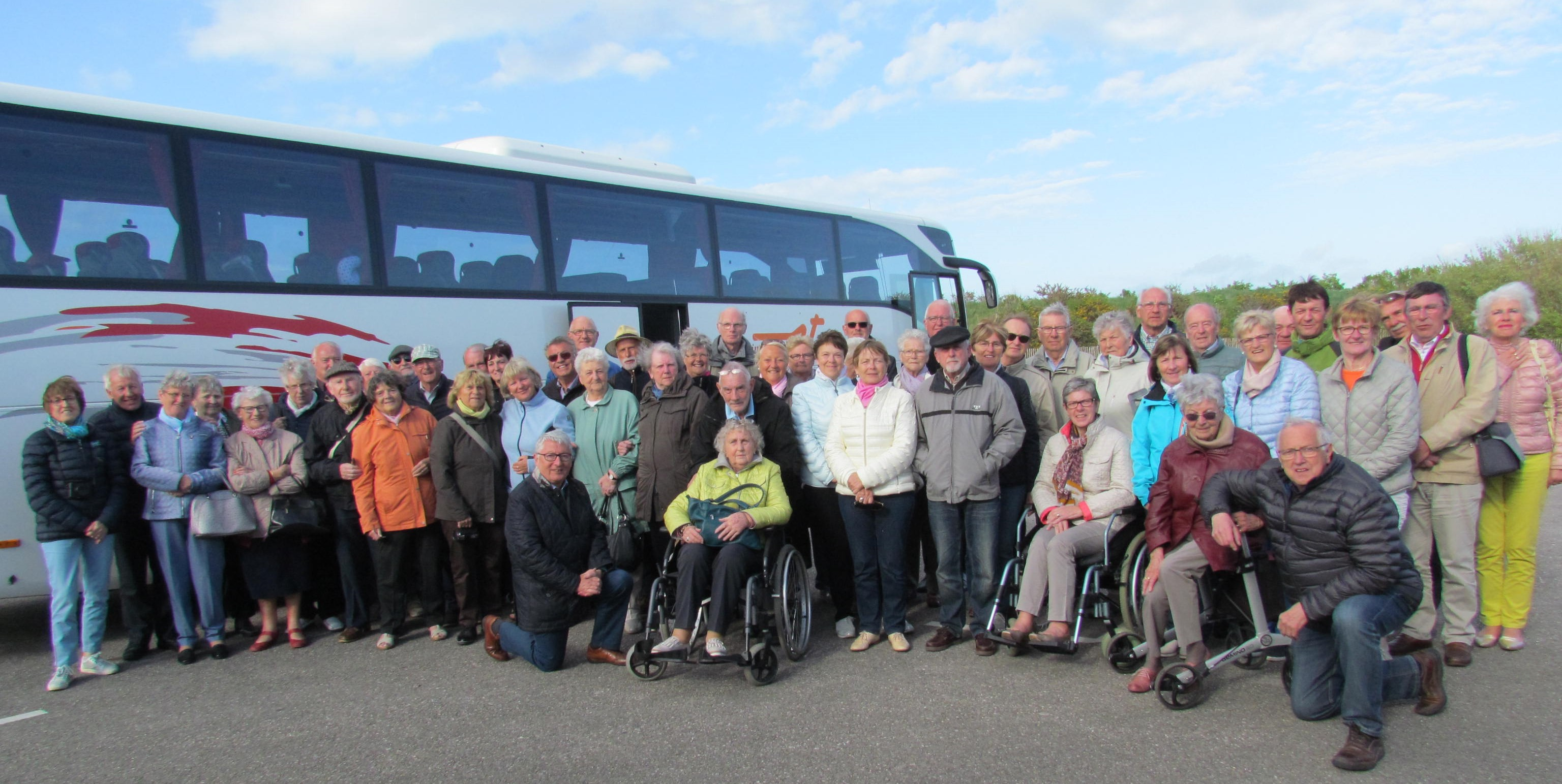 Driedaagse reis van de Bredense senioren naar Normandië