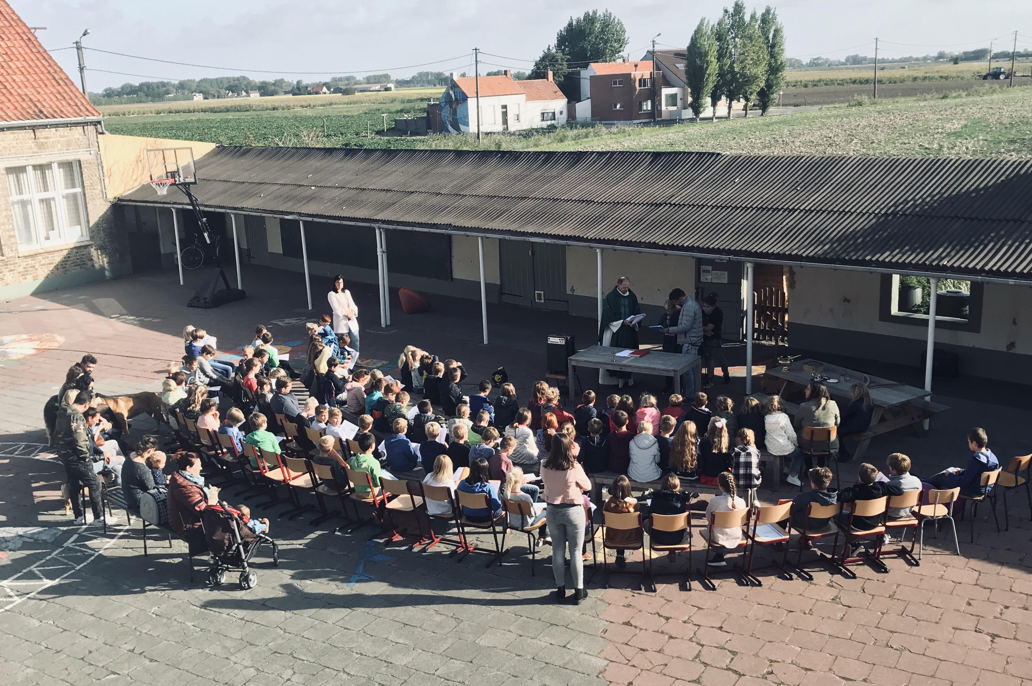 Startviering in VBS De Dorpslinde