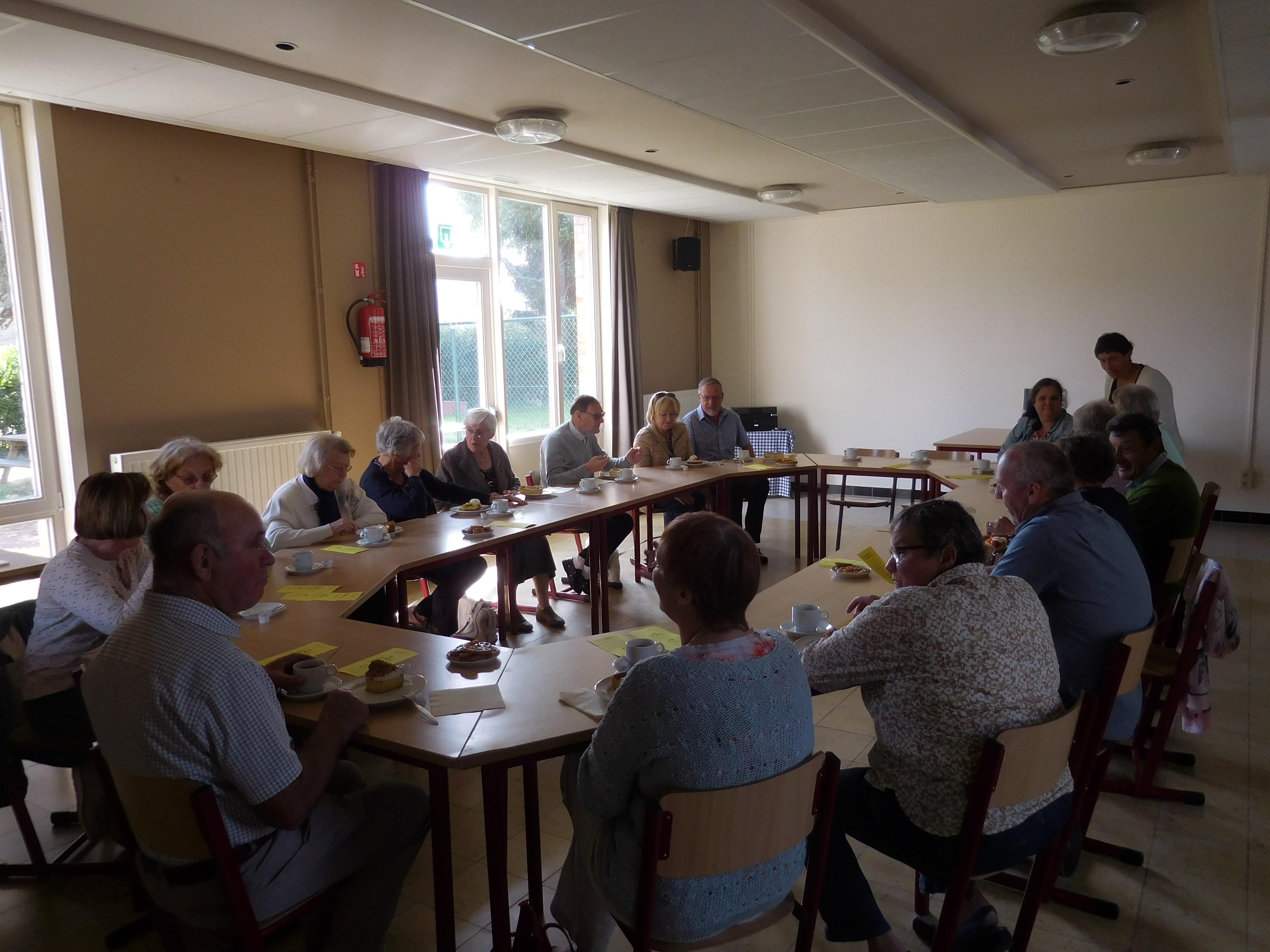 Samenkomst buurtwerking Sint-Jozef Bredene-Sas