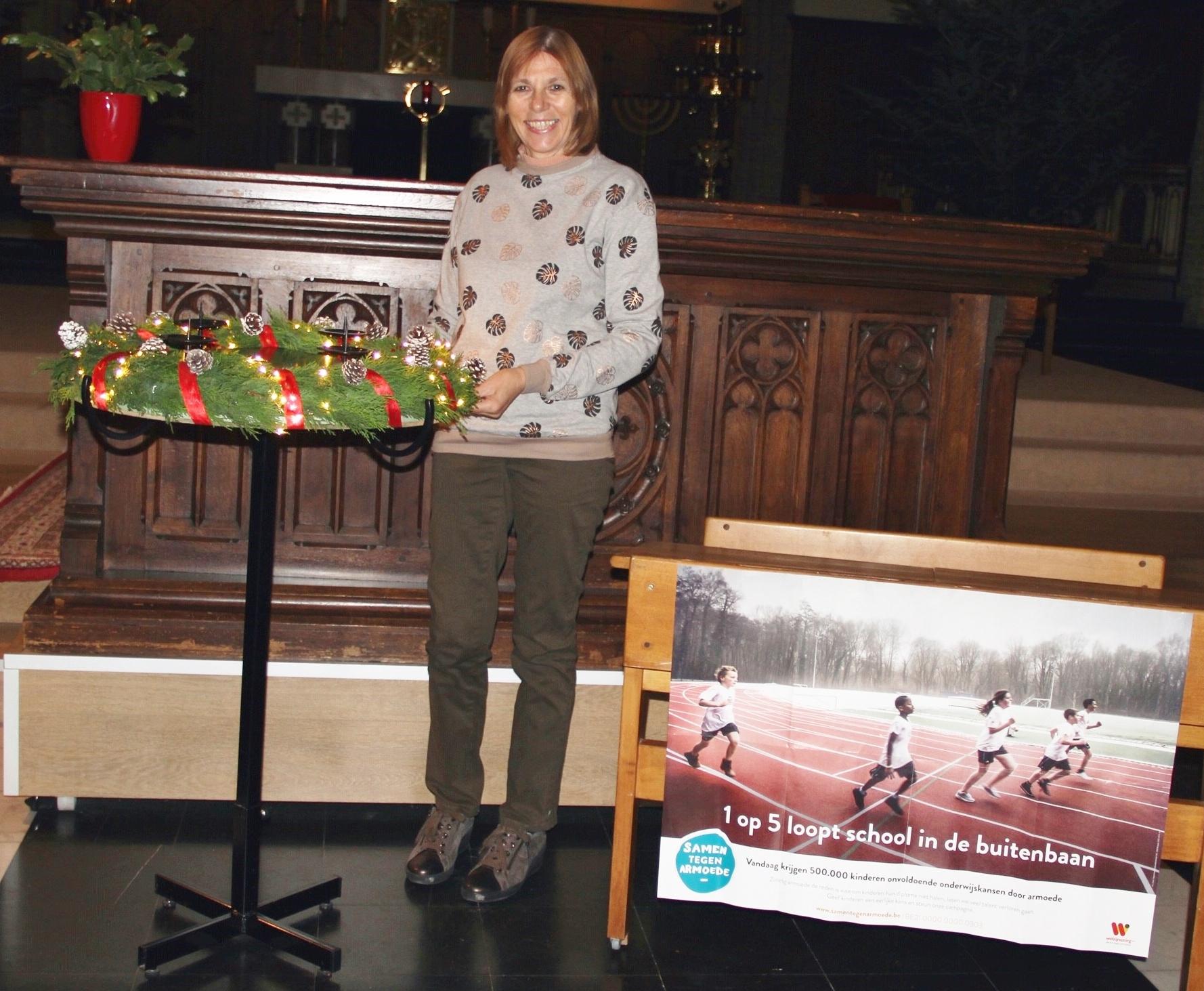 Aan het woord… Linda Depuydt, bloemschikster in de St.-Thersiakerk