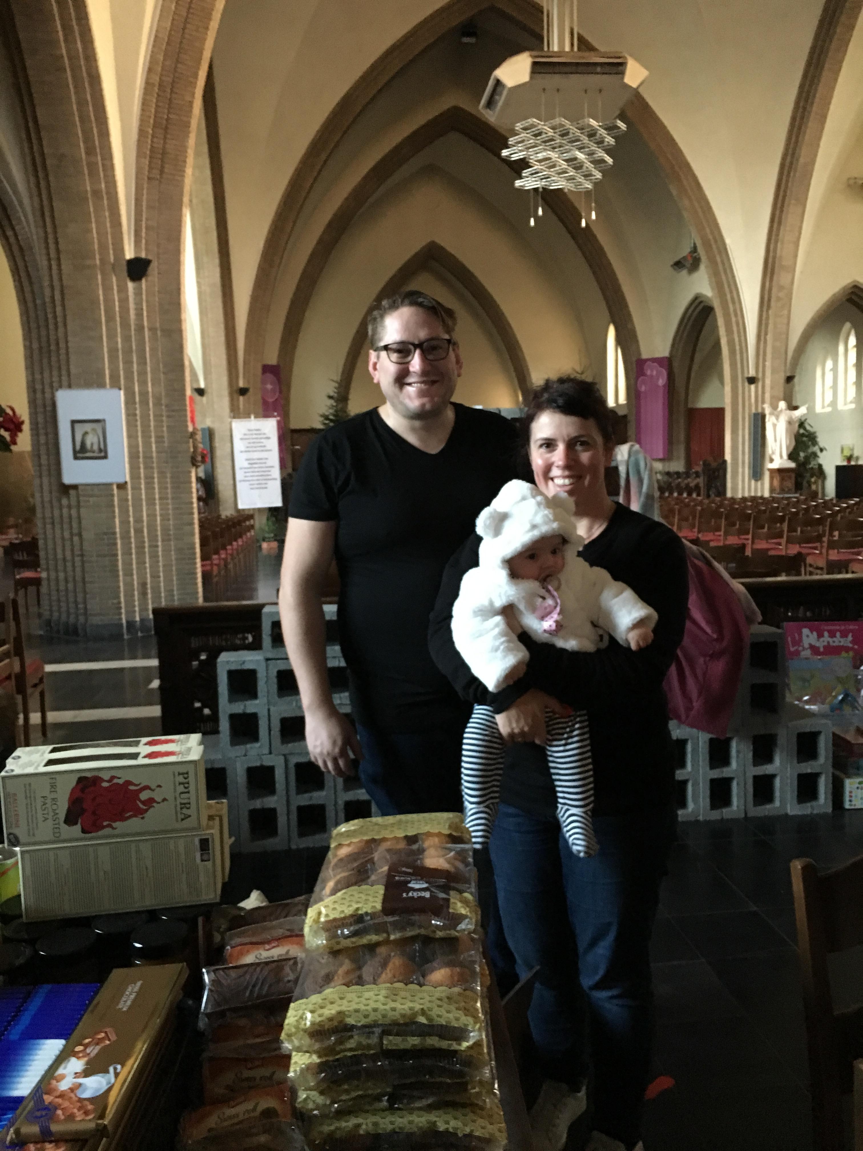 Sint-Vincentius schenkt kerstpakketten
