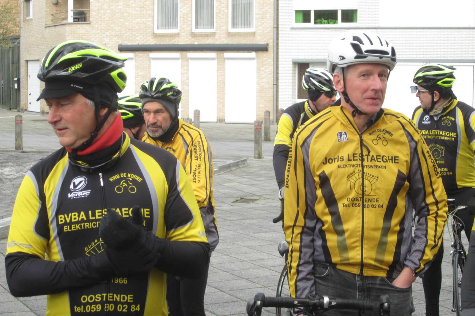 Start fietsseizoen Korrefietsers KWB Vuurtoren