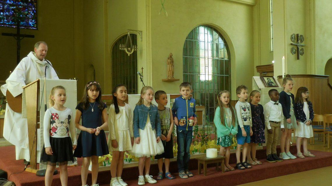 Dankviering eerste communicanten Sint-Jozef