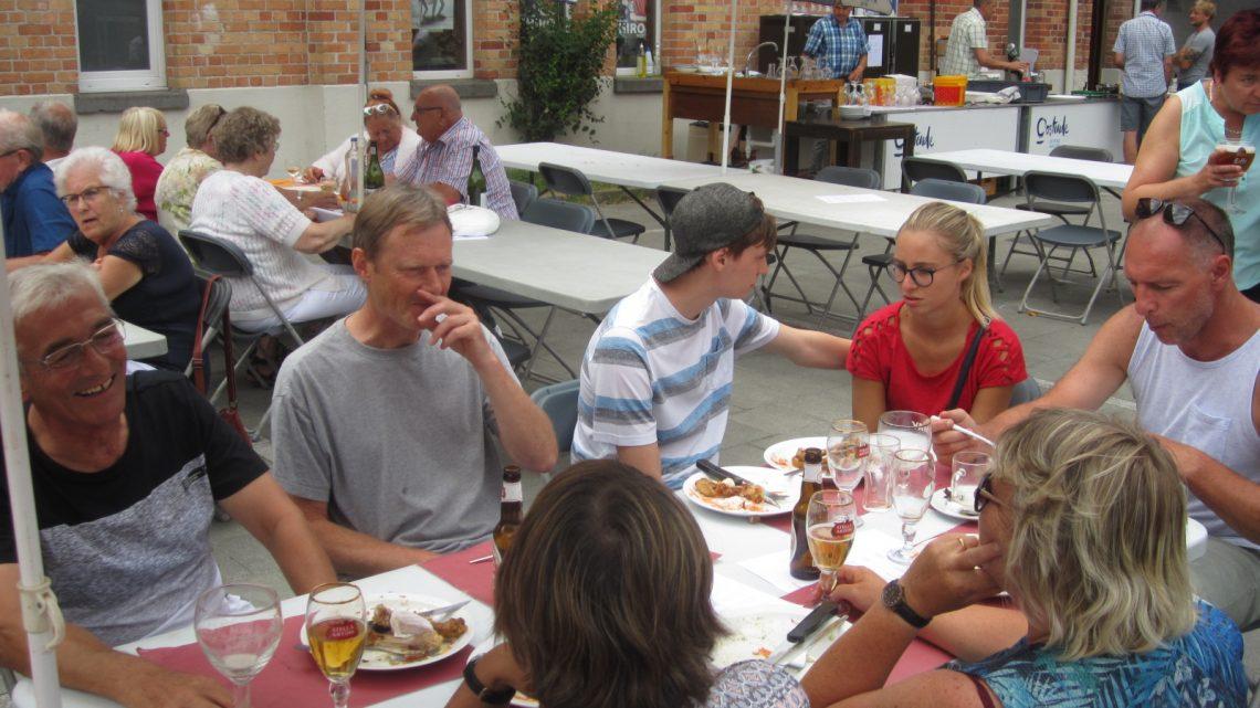 Barbecue's op de Vuurtorenwijk