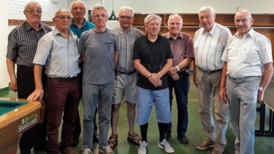 Kampioenenviering biljart OKRA-Bredene