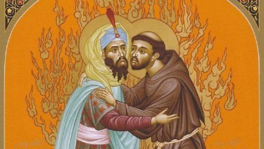 De ontmoeting tussen Franciscus en de sultan