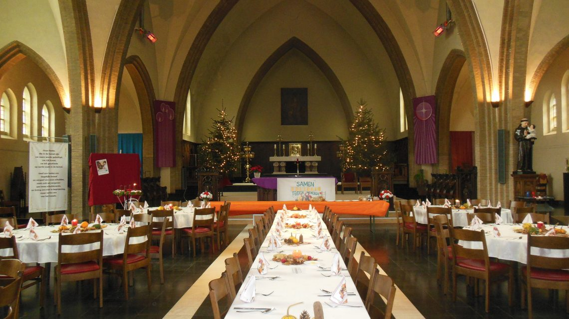 Wintermaaltijd in Sint-Theresia