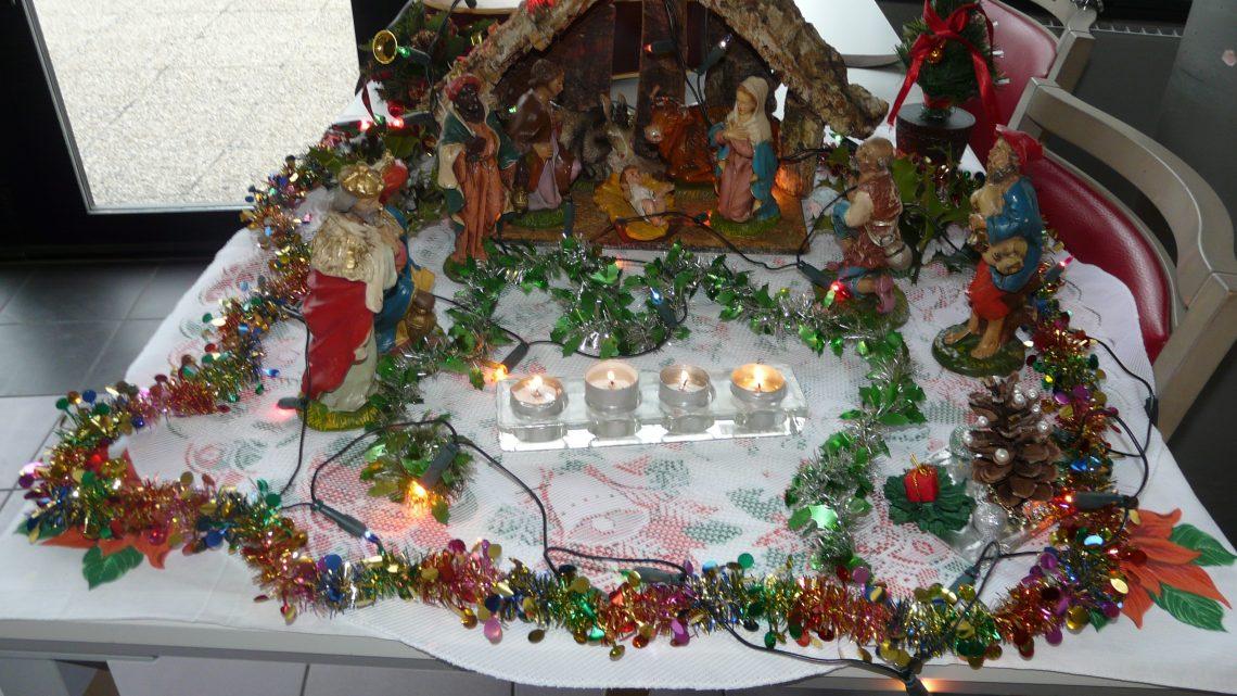 Kerstvieringen in onze federatie