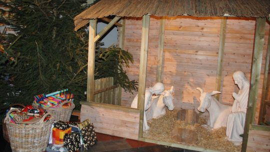Geslaagde kerstmarkt op de Vuurtorenwijk