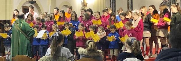 Chiro Nelle start nieuwjaarsfeest in de St.-Antoniuskerk