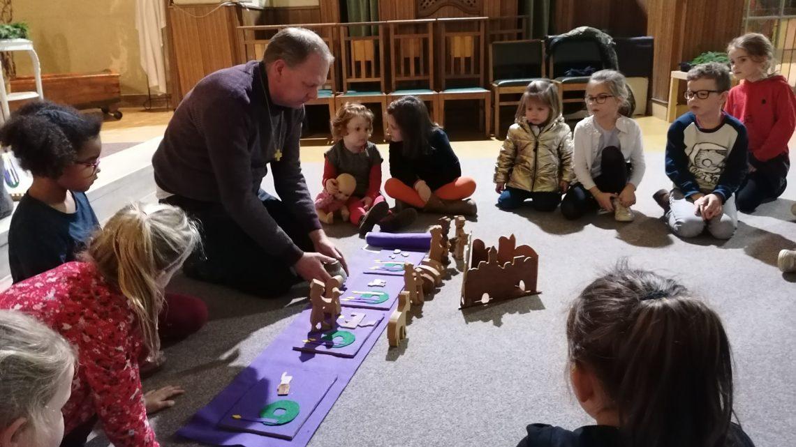 Kindernevendiensten in St.-Jozefskerk
