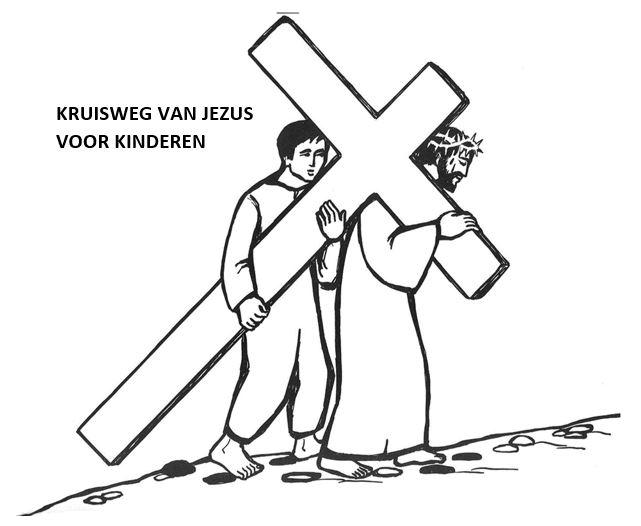 De kruisweg bidden met kinderen