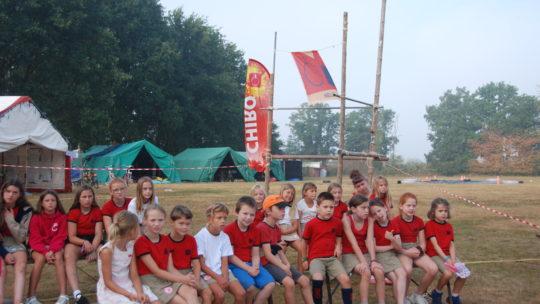 Chiro Nelle en Chiro Sas trokken op kamp deze zomer