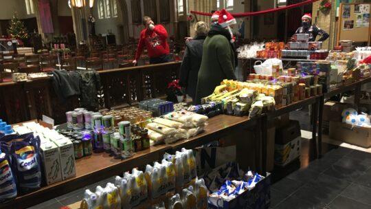 Kerstactie in St.-Vincentius Dorp-Duinen