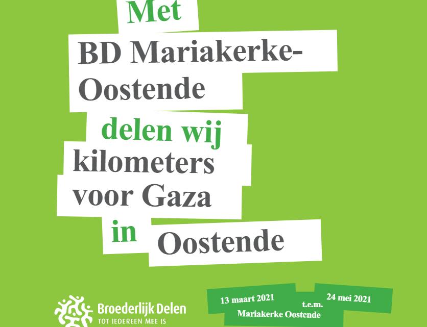 De 4292 km GAZA CHALLENGE – Een wandeling van Oostende naar Gaza t.v.v. Broederlijk Delen