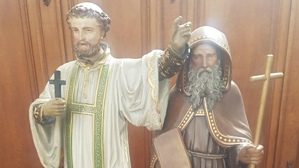 Gezien in de St.-Rikierskerk…