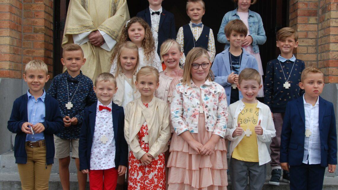 Eerste communie in St.-Antonius