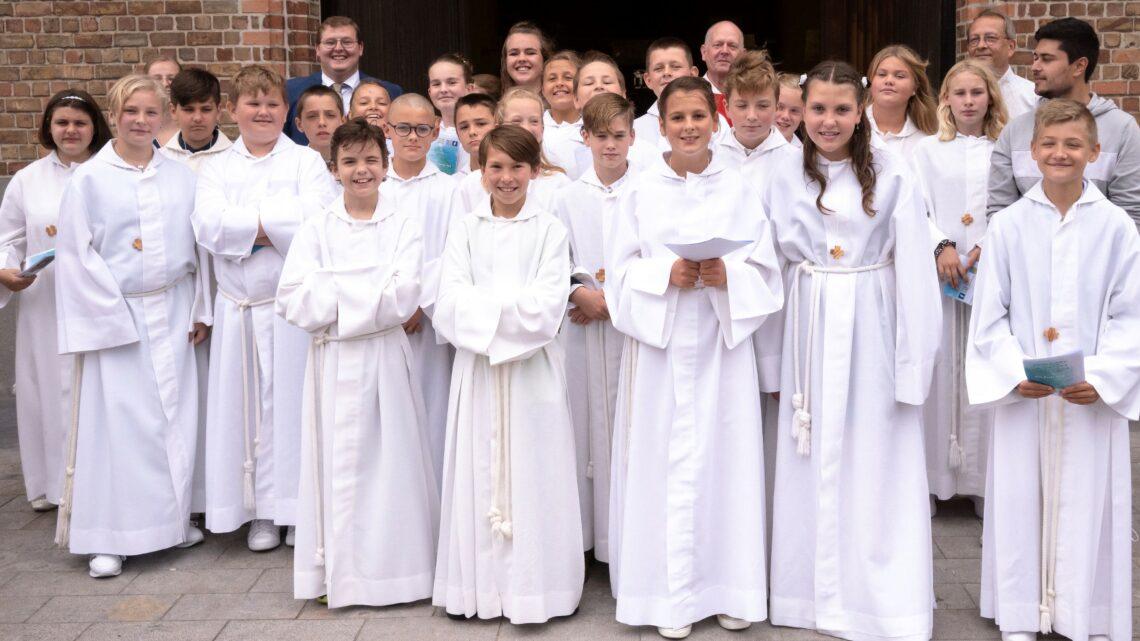 Vormselvieringen in de pastorale eenheid