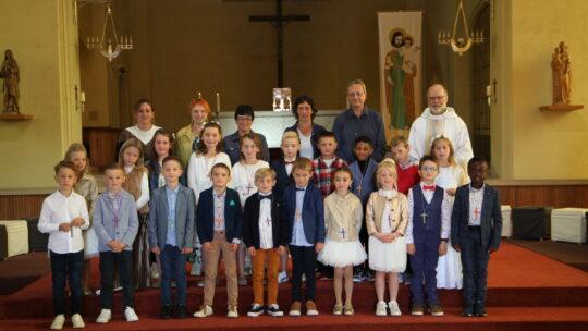 Eerste communie in St.-Jozef