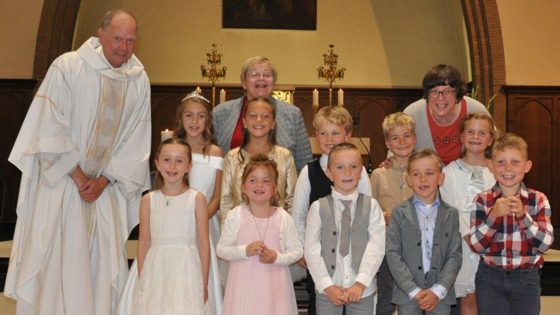 Eerste communie in St.-Theresia